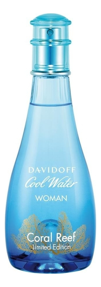 Davidoff Cool Water Woman Coral Reef Edition: туалетная вода 100мл тестер