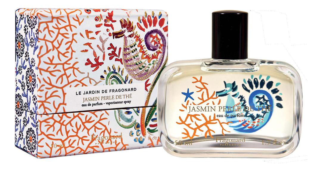 Jasmin Perle De The: парфюмерная вода 50мл jasmin de nuit