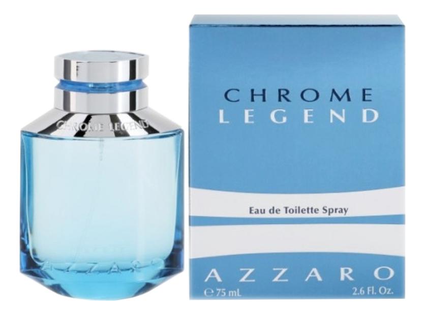 Azzaro Chrome Legend: туалетная вода 75мл цена и фото