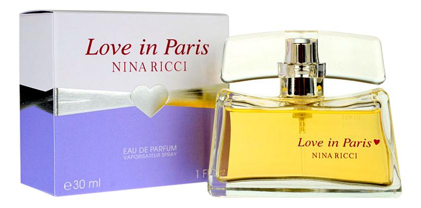 Love in Paris: парфюмерная вода 30мл недорого