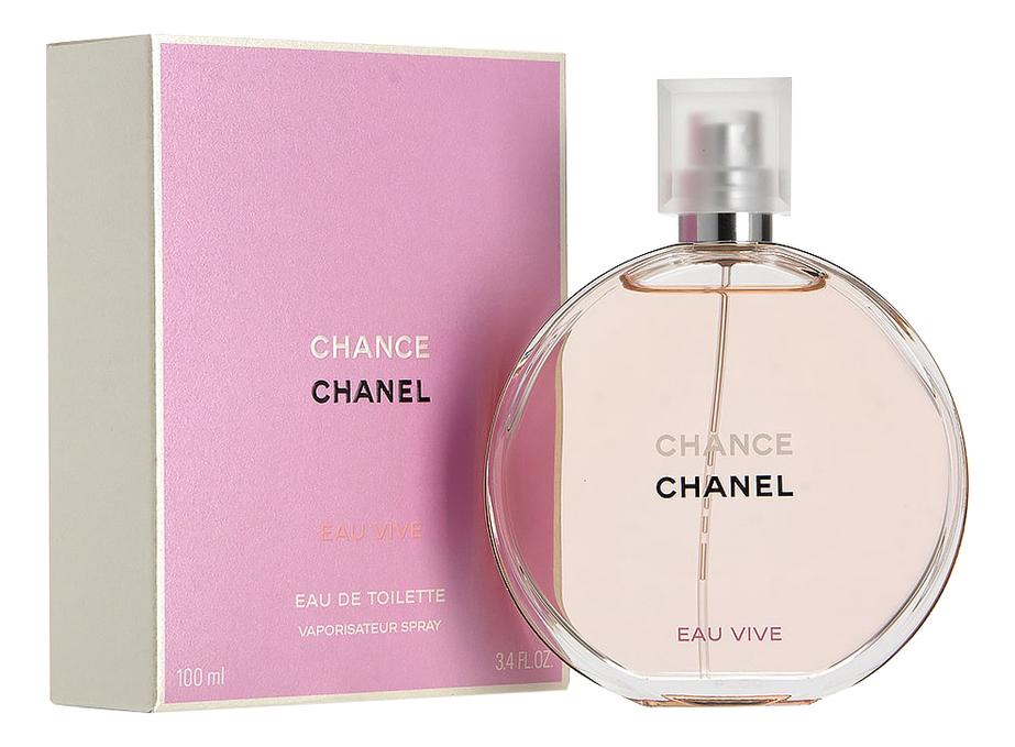 Chanel Chance Eau Vive: туалетная вода 100мл недорого