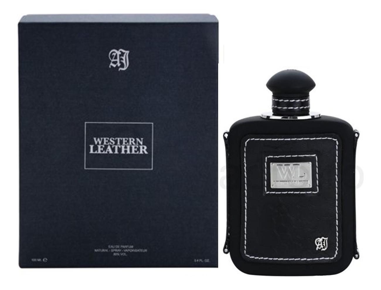 Alexandre J. Western Leather Black: парфюмерная вода 100мл фото