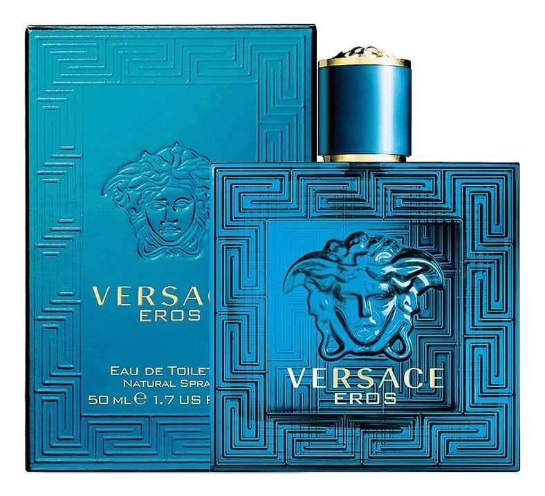 Versace Eros: туалетная вода 50мл туалетная вода versace eros 100 мл мужская