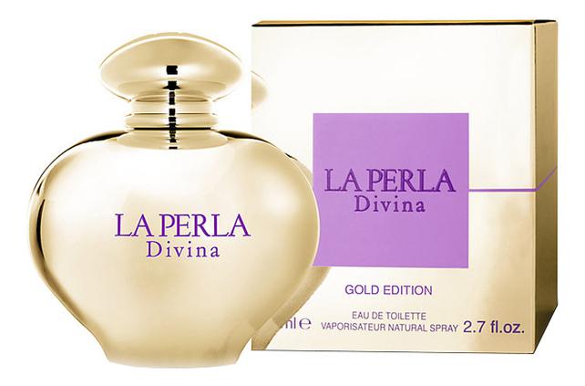 La Perla Divina Gold : туалетная вода 80мл la perla restyling парфюмерная вода 80мл