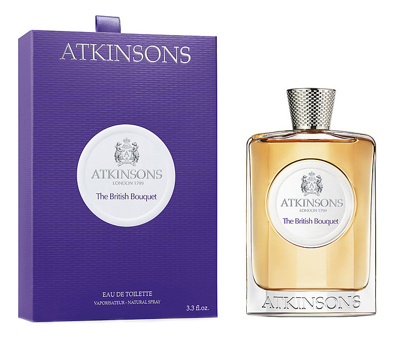 Atkinsons The British Bouquet: туалетная вода 100мл atkinsons the british bouquet туалетная вода 50мл