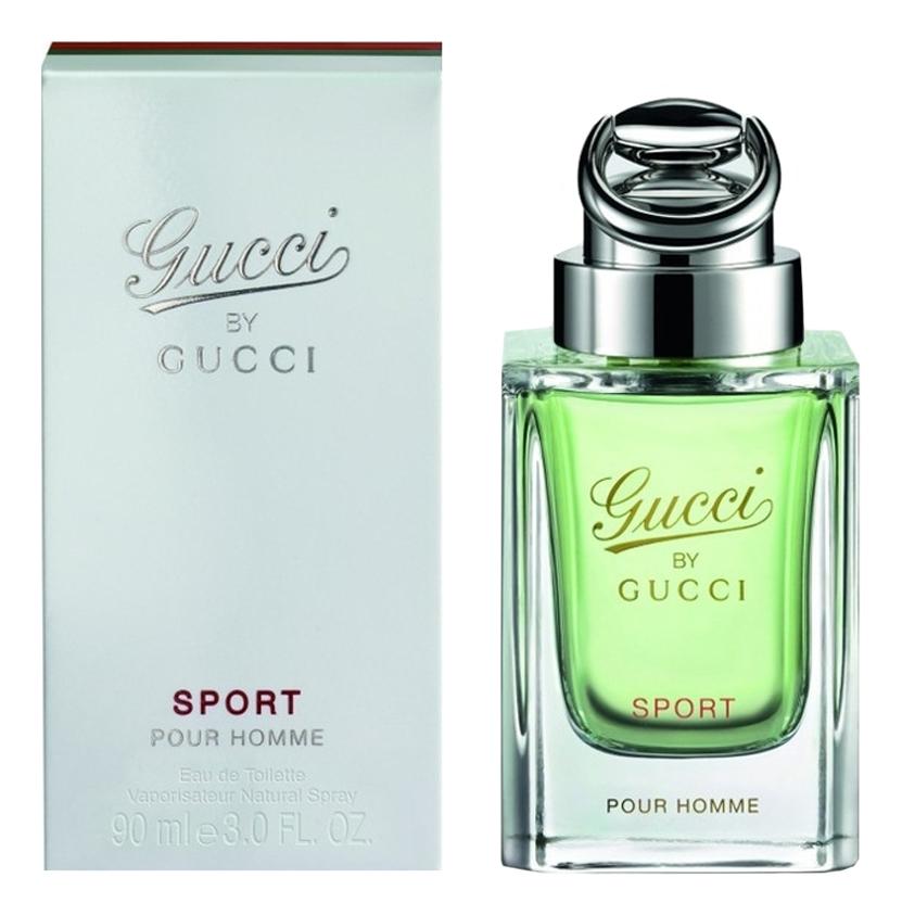 By Gucci Sport pour homme: туалетная вода 90мл туалетная вода gucci gucci by gucci sport pour homme 90 мл