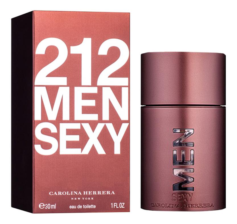 Carolina Herrera 212 Sexy Men: туалетная вода 30мл