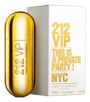 цена Carolina Herrera 212 VIP Woman: парфюмерная вода 50мл онлайн в 2017 году
