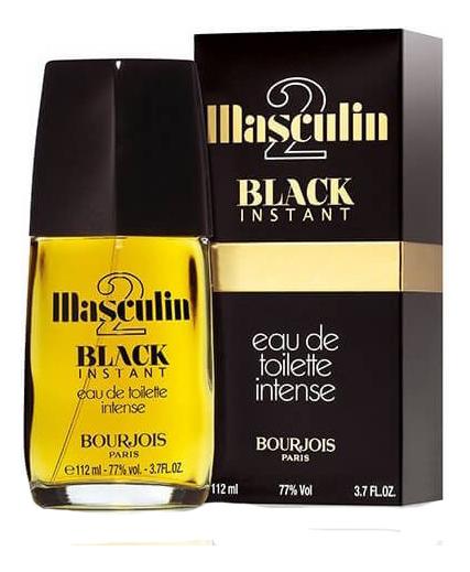 Bourjois Masculin 2 Black Instant: туалетная вода 112мл