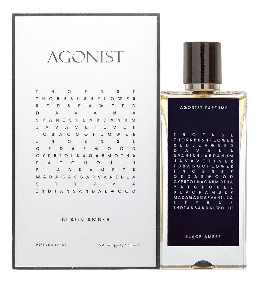 Agonist Black Amber: духи 50мл