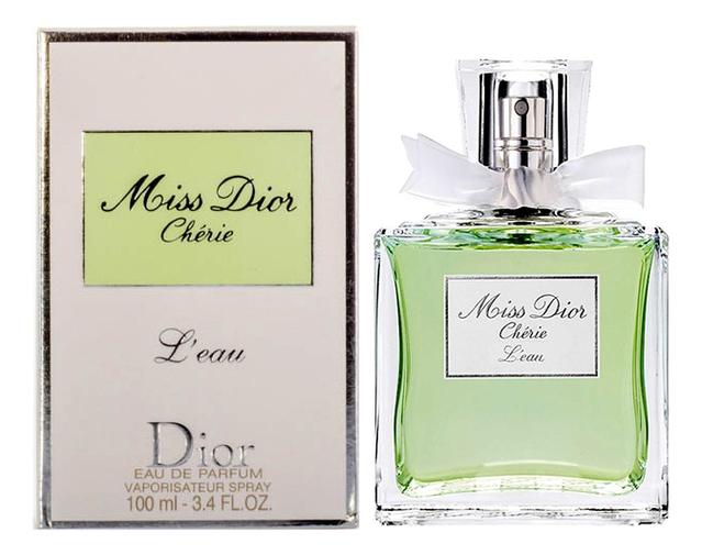 Купить Miss Dior Cherie L'eau: туалетная вода 100мл, Christian Dior