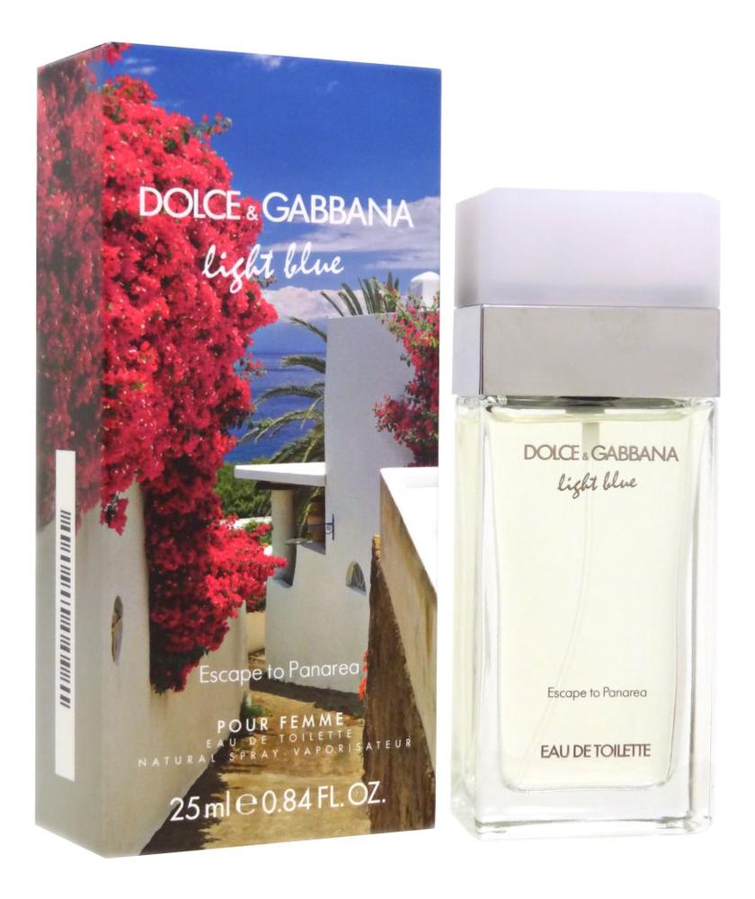 цена на Dolce Gabbana (D&G) Light Blue Escape to Panarea: туалетная вода 25мл
