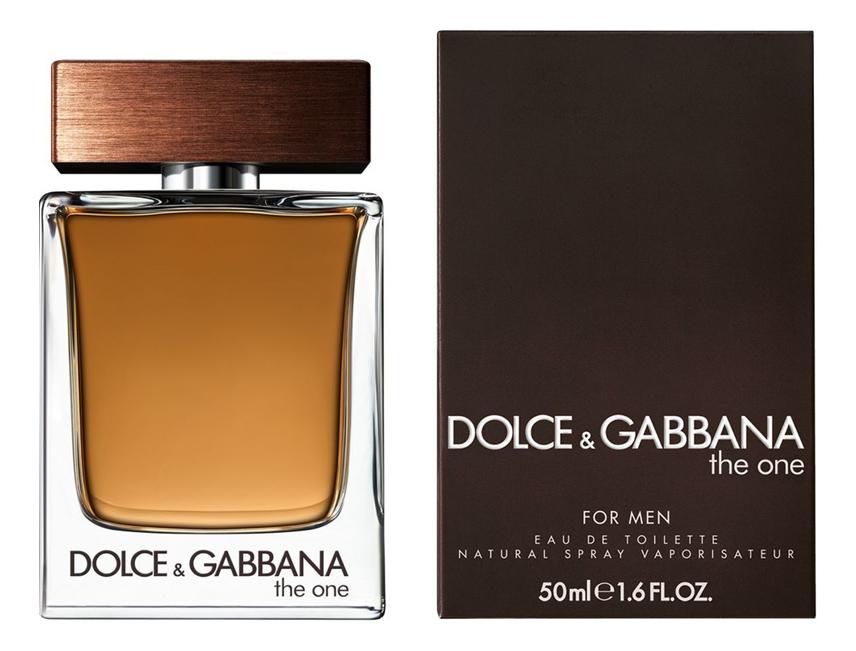 Купить The One for Men: туалетная вода 50мл, Dolce & Gabbana