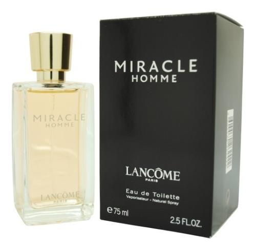 Lancome Miracle Homme: туалетная вода 75мл lancome miracle secret отливант парфюмированная вода 18 мл