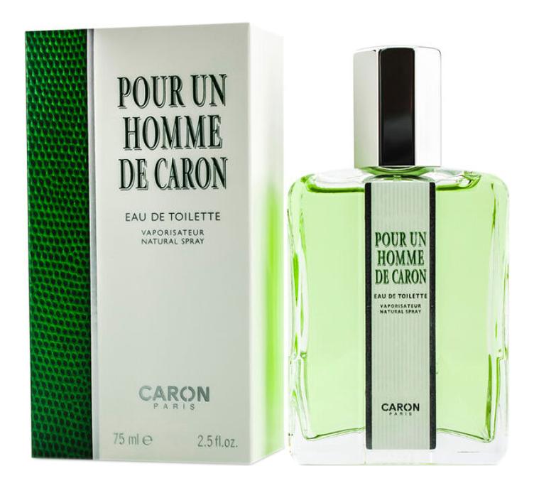 Pour Un Homme De Caron: туалетная вода 75мл недорого