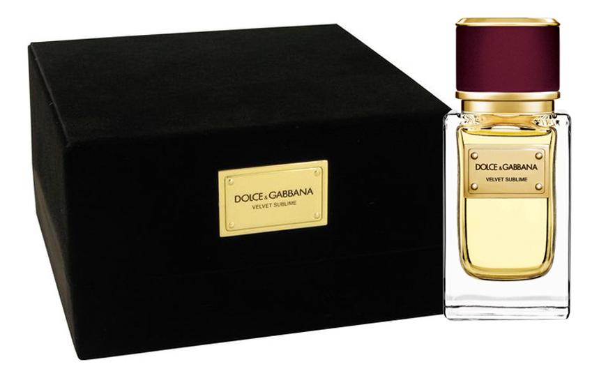 Купить Dolce Gabbana (D&G) Velvet Sublime: парфюмерная вода 50мл, Dolce Gabbana (D&G) Velvet Sublime, Dolce & Gabbana
