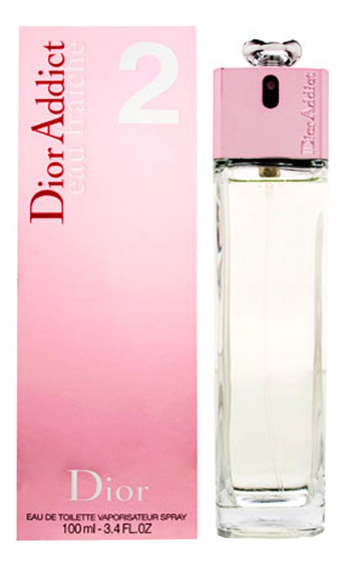 Купить Addict 2 Eau Fraiche: туалетная вода 100мл, Christian Dior