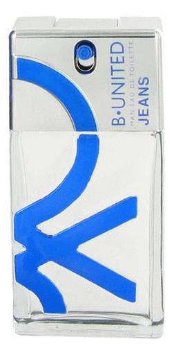 Benetton B-United Jeans men: туалетная вода 100мл тестер