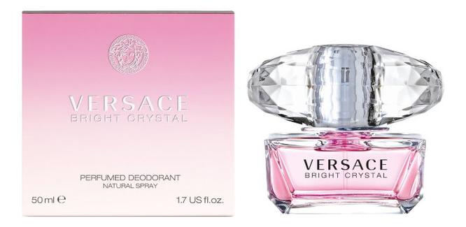 Фото - Versace Bright Crystal: дезодорант 50мл versace ve110dwely06