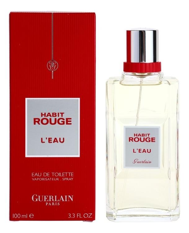 Habit Rouge L'Eau: туалетная вода 100мл недорого