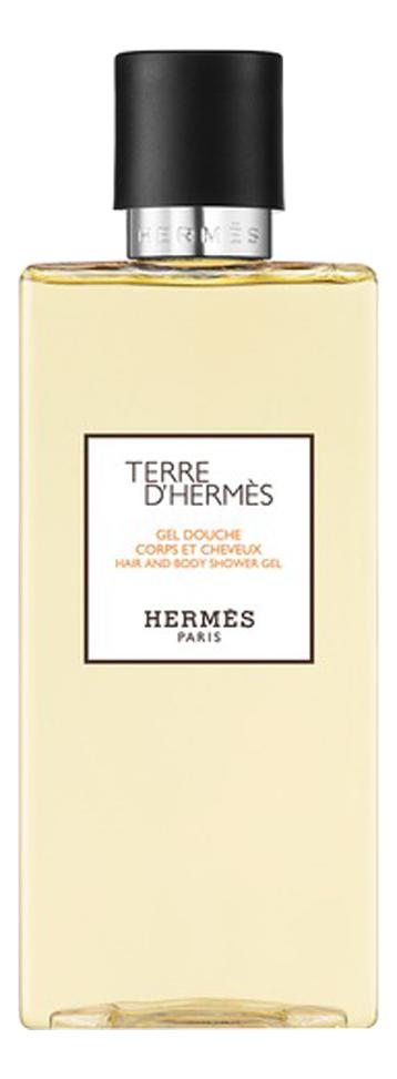Hermes Terre D'Hermes pour homme: гель для душа 200мл фото