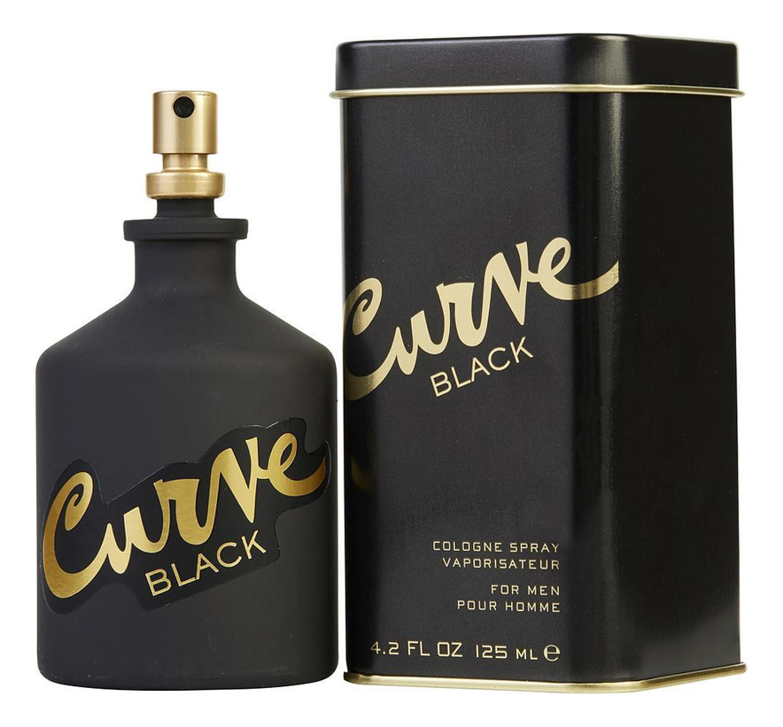 Liz Claiborne Curve Black: одеколон 125мл