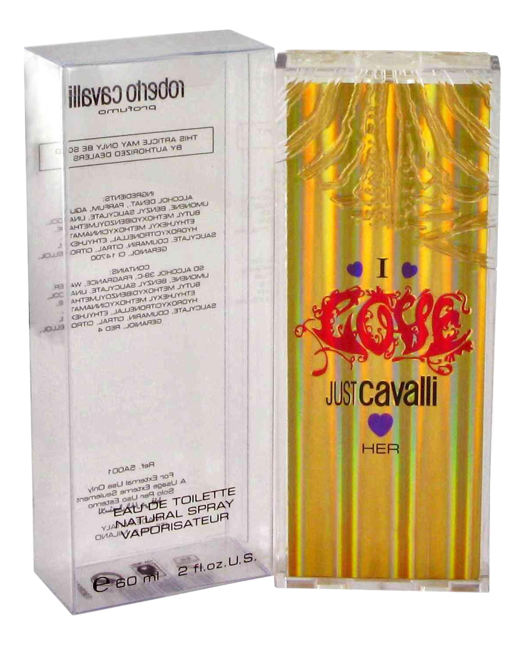 цена Roberto Cavalli Just Cavalli I Love Her: туалетная вода 60мл онлайн в 2017 году