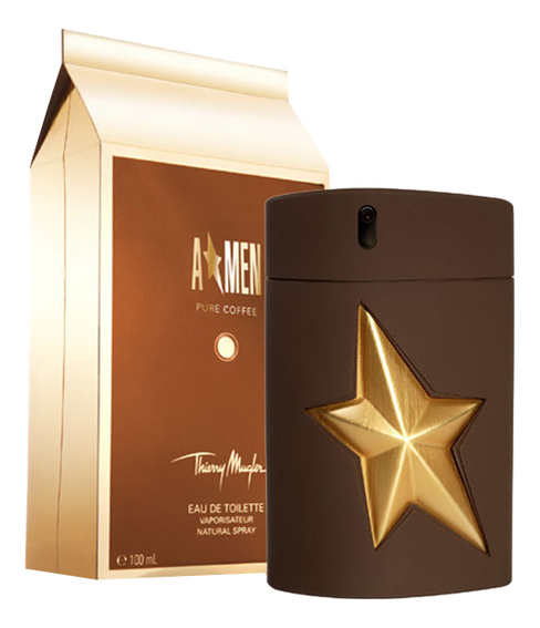 Mugler A'Men Pure Coffee: туалетная вода 100мл mugler a men pure havane туалетная вода спрей 100 мл