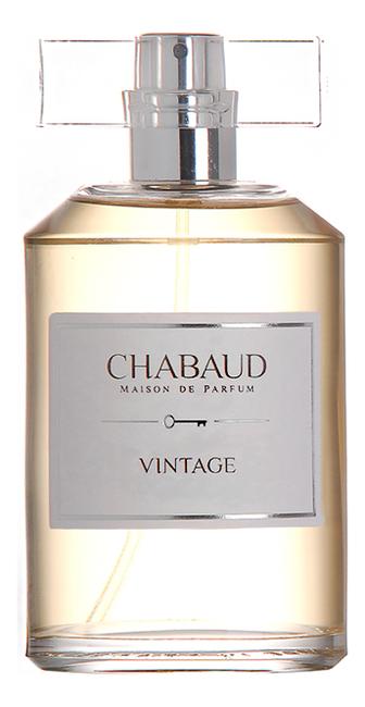 Chabaud Maison de Parfum Vintage : парфюмерная вода 100мл тестер chabaud maison de parfum nectar de fleurs парфюмерная вода 100мл