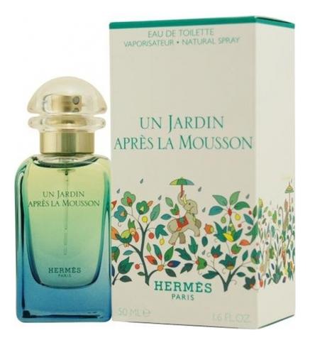 Hermes Un Jardin Apres La Mousson: туалетная вода 50мл hermes туалетная вода un jardin apres la mousson женская 50 мл