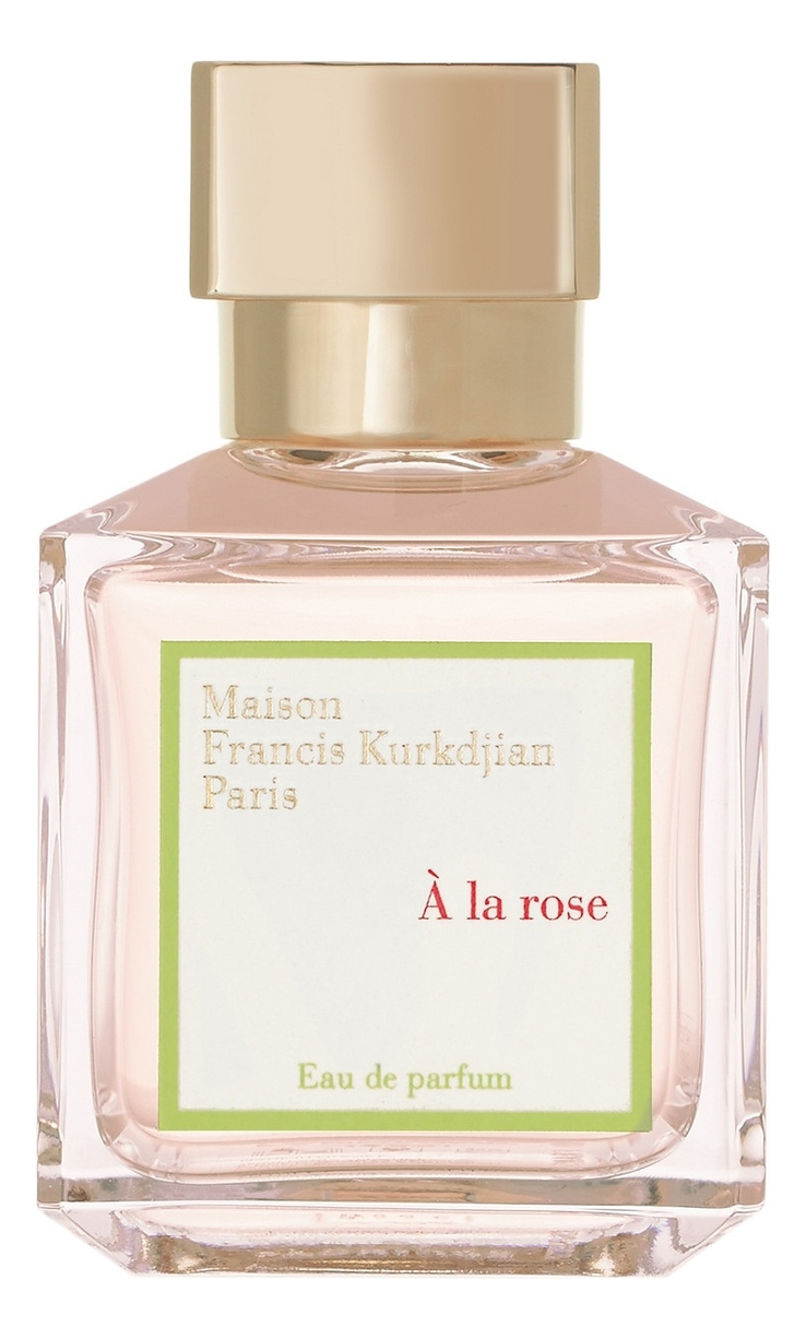 Купить A la Rose: парфюмерная вода 2мл, Francis Kurkdjian
