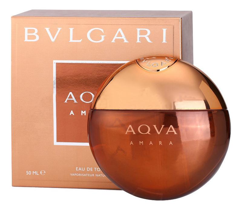 Bvlgari Aqva Amara: туалетная вода 50мл
