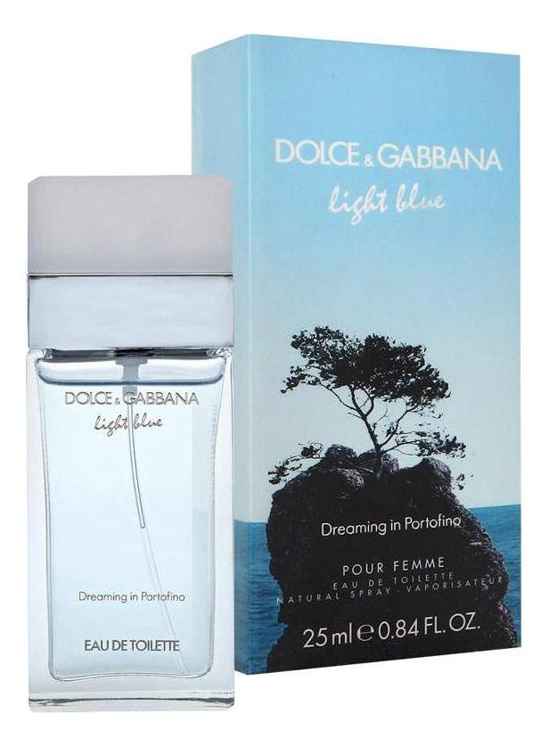 Light Blue Dreaming in Portofino: туалетная вода 25мл недорого