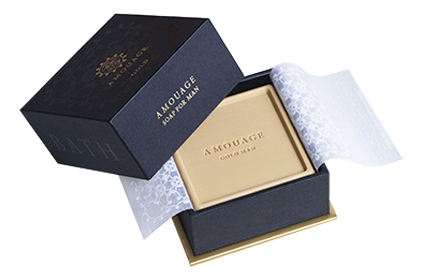 Amouage Gold For Men: мыло 150г
