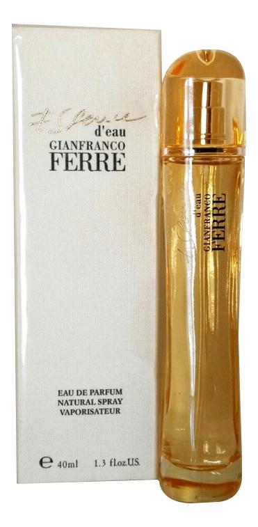 Купить Essence d'eau: парфюмерная вода 40мл, GianFranco Ferre