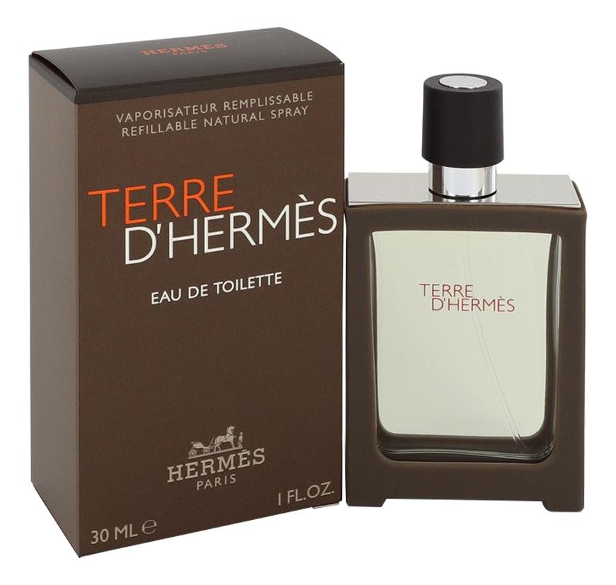 Terre D'Hermes pour homme: туалетная вода 30мл недорого