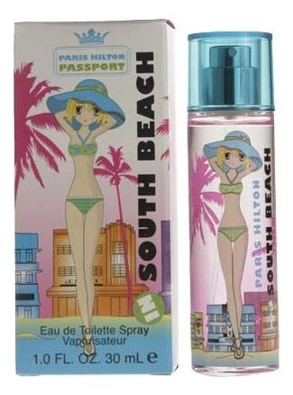 Купить Paris Hilton Passport South Beach: туалетная вода 30мл
