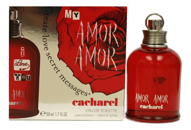 Cacharel Amor Amor MY: туалетная вода 50мл cacharel amor in a flash