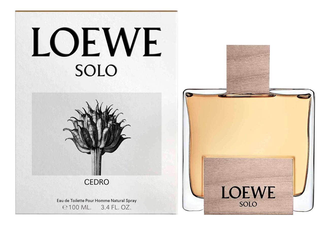 Solo Loewe Cedro: туалетная вода 100мл loewe балетки