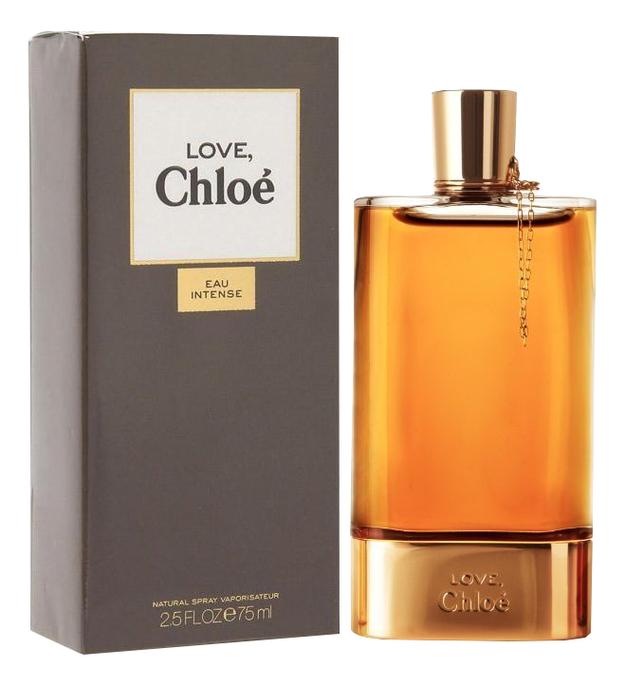 Фото - Love Chloe Eau Intense: парфюмерная вода 75мл love story eau sensuelle парфюмерная вода 75мл