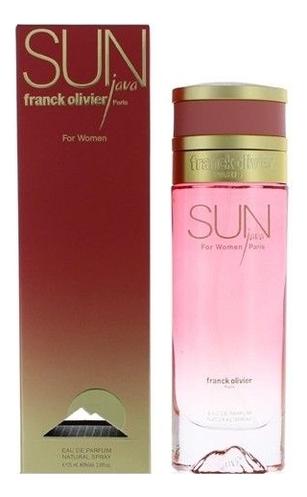 Franck Olivier Sun Java for Women: парфюмерная вода 75мл