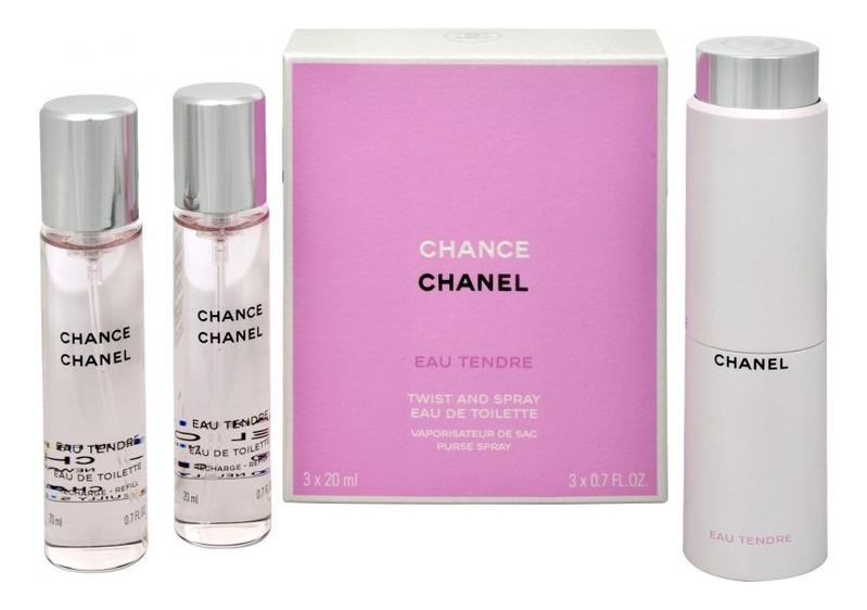 Chance Eau Tendre: туалетная вода 3*20мл недорого