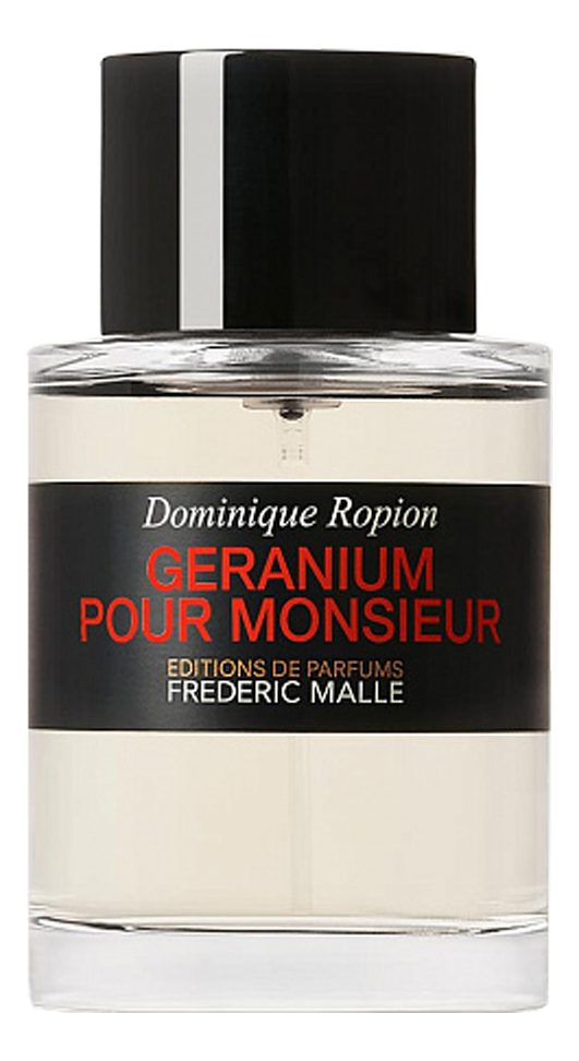 Frederic Malle Geranium Pour Monsieur: парфюмерная вода 100мл тестер frederic malle bois dorage туалетные духи тестер 100 мл