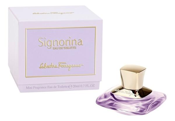 Купить Signorina Eau de Toilette: туалетная вода 20мл, Salvatore Ferragamo