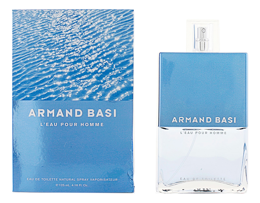Купить L'Eau Pour Homme: туалетная вода 125мл, Armand Basi
