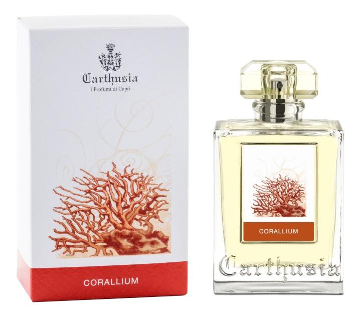 Купить Corallium: парфюмерная вода 50мл, Carthusia