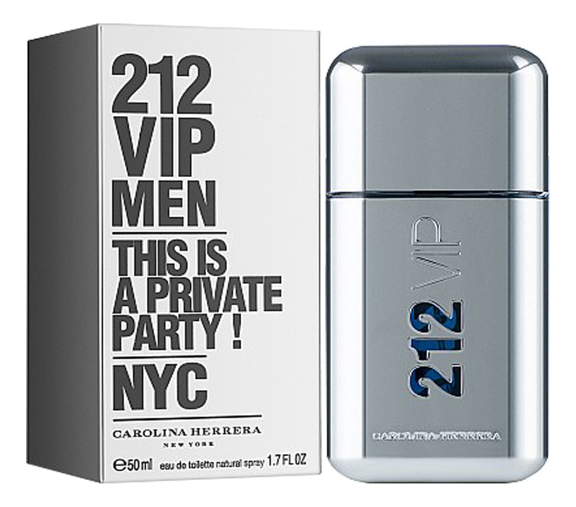 212 VIP Men: туалетная вода 50мл carolina herrera 212 sexy men туалетная вода 100мл