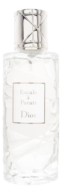 цена на Christian Dior Escale a Parati : туалетная вода 125мл тестер