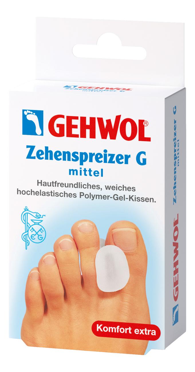 Гель-корректор для большого пальца Zehenspreizer G 3шт: Средний размер