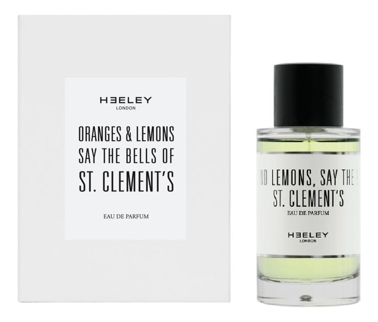 Купить Oranges and Lemons Say The Bells of St. Clements: парфюмерная вода 100мл, Heeley